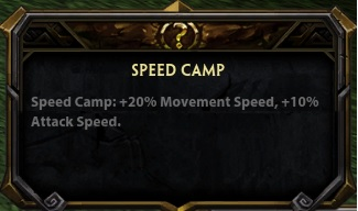 Speedbuff description
